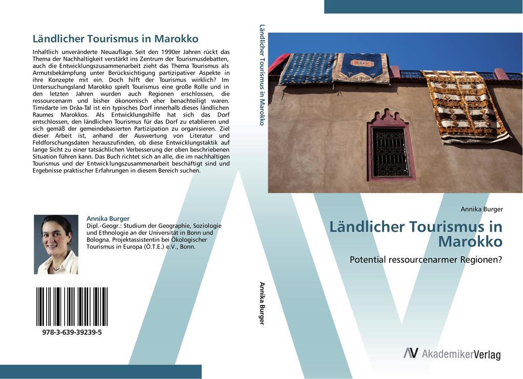 Ländlicher Tourismus in Marokko als Buch von An...