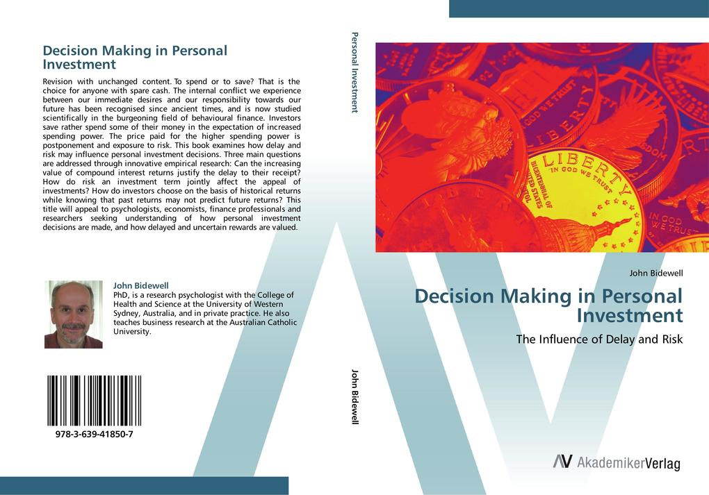 Decision Making in Personal Investment als Buch...