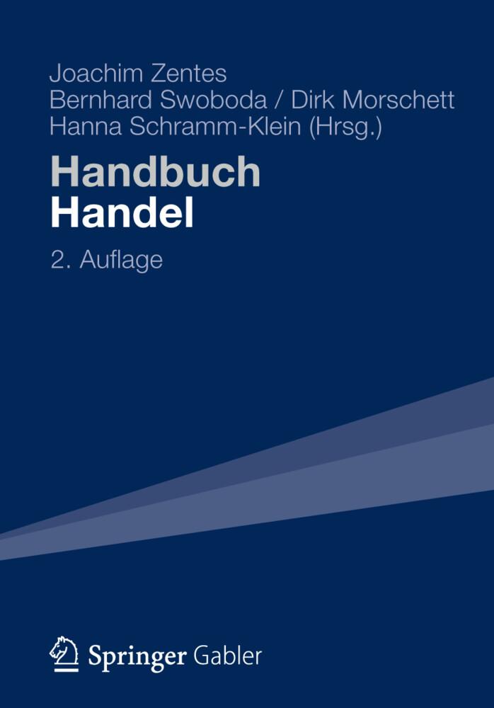 Handbuch Handel als Buch von