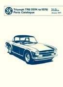 Triumph TR6 Spare Parts Catalogue: 1974-1976
