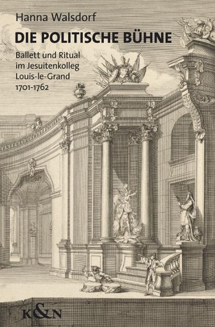 Die politische Bühne als Buch von Hanna Walsdorf