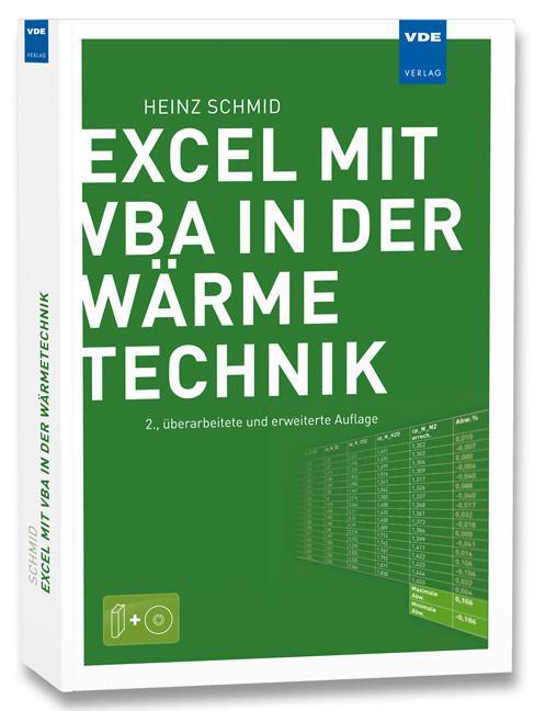 Excel mit VBA in der Wärmetechnik als Buch
