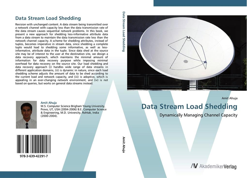 Data Stream Load Shedding als Buch von Amit Ahuja