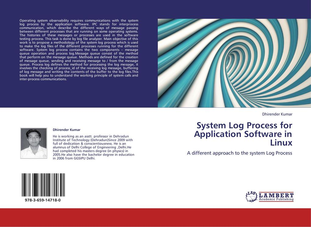 System Log Process for Application Software in ...