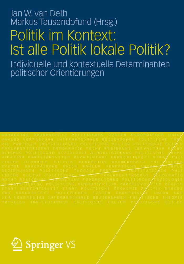 Politik im Kontext: Ist alle Politik lokale Pol...