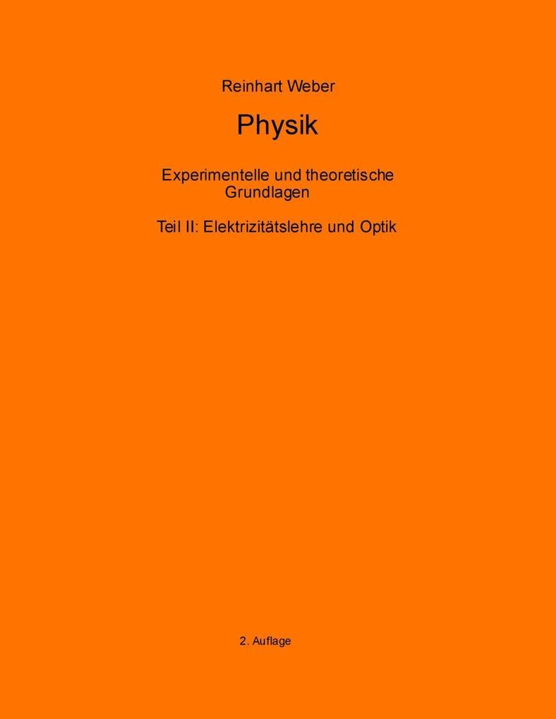 Physik II als eBook Download von Reinhart Weber