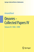 Oeuvres - Collected Papers IV