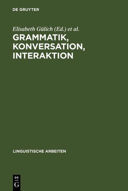 Grammatik, Konversation, Interaktion als eBook Download von