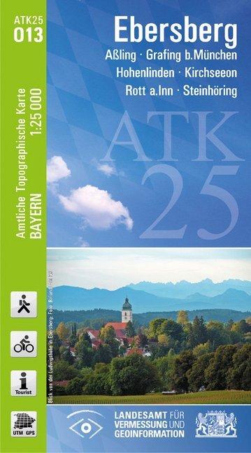 Ebersberg 1 : 25 000 als Buch von Breitband und...