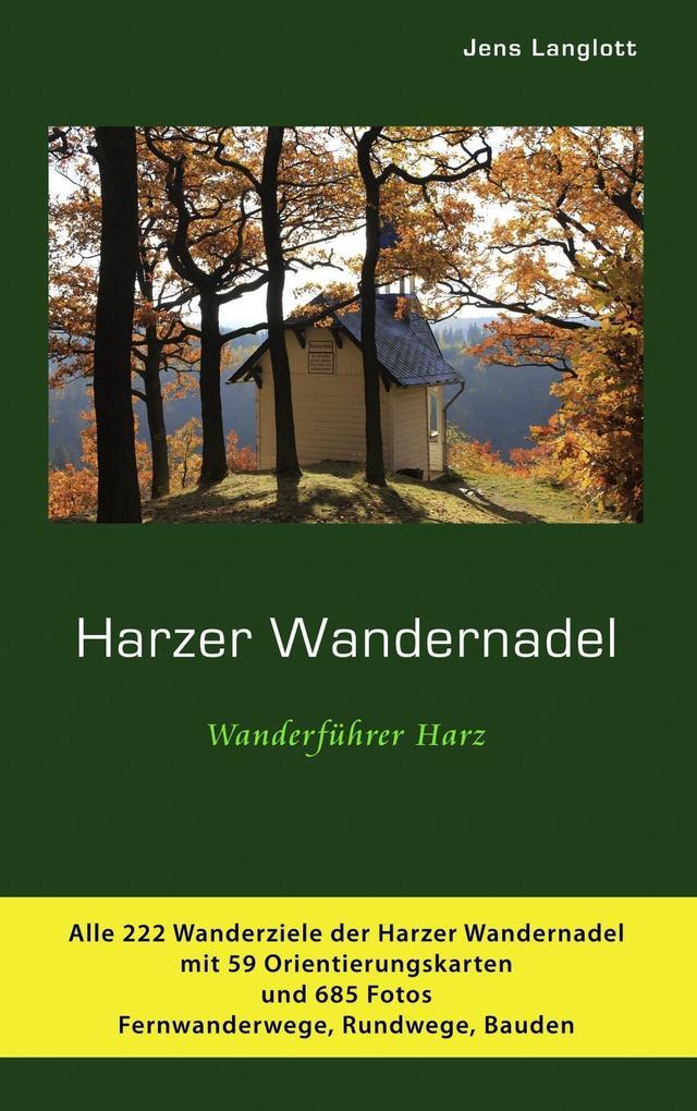 Harzer Wandernadel - Wanderführer Harz als eBoo...