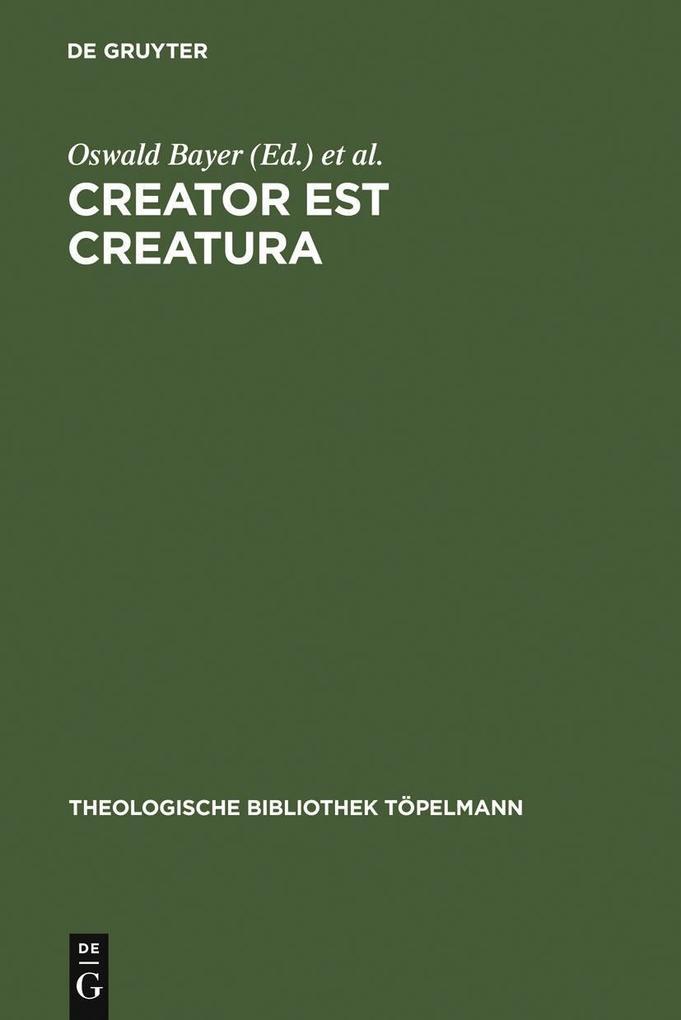 Creator est Creatura als eBook