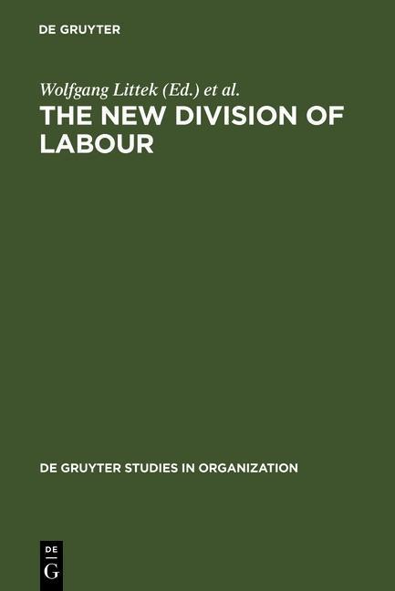 The New Division of Labour als eBook Download von