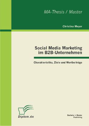 Social Media Marketing im B2B-Unternehmen: Char...