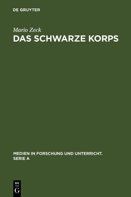 Das Schwarze Korps als eBook Download von Mario...
