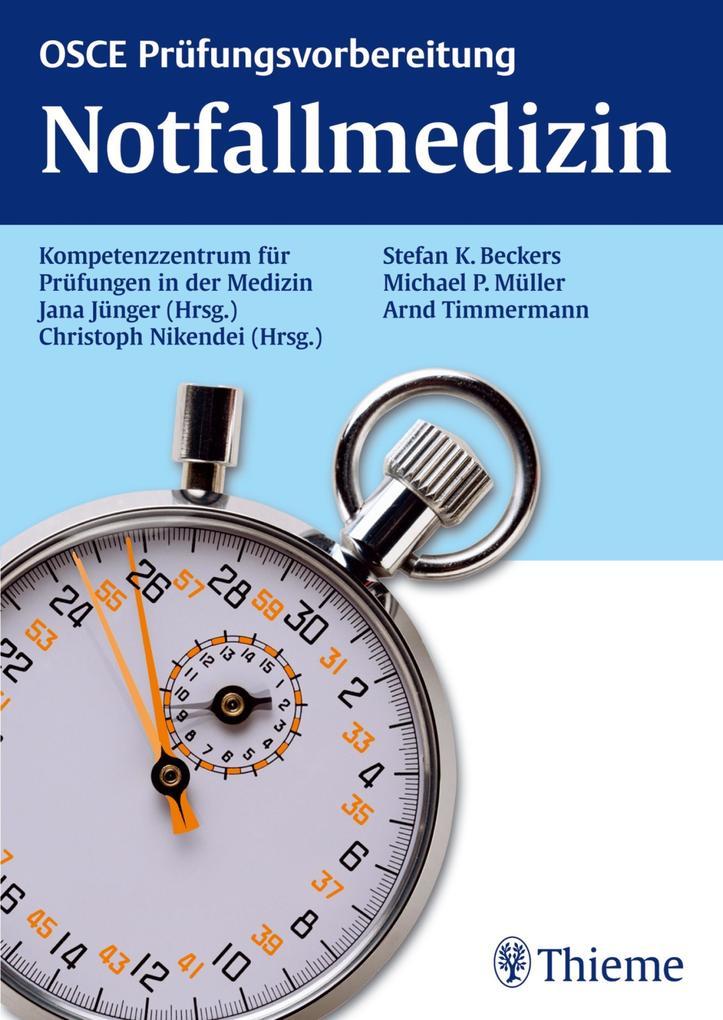 OSCE Notfallmedizin als eBook Download von Jana...