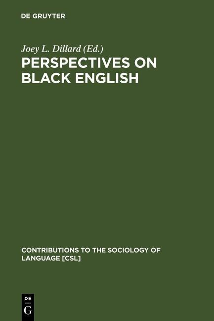 Perspectives on Black English als eBook Downloa...