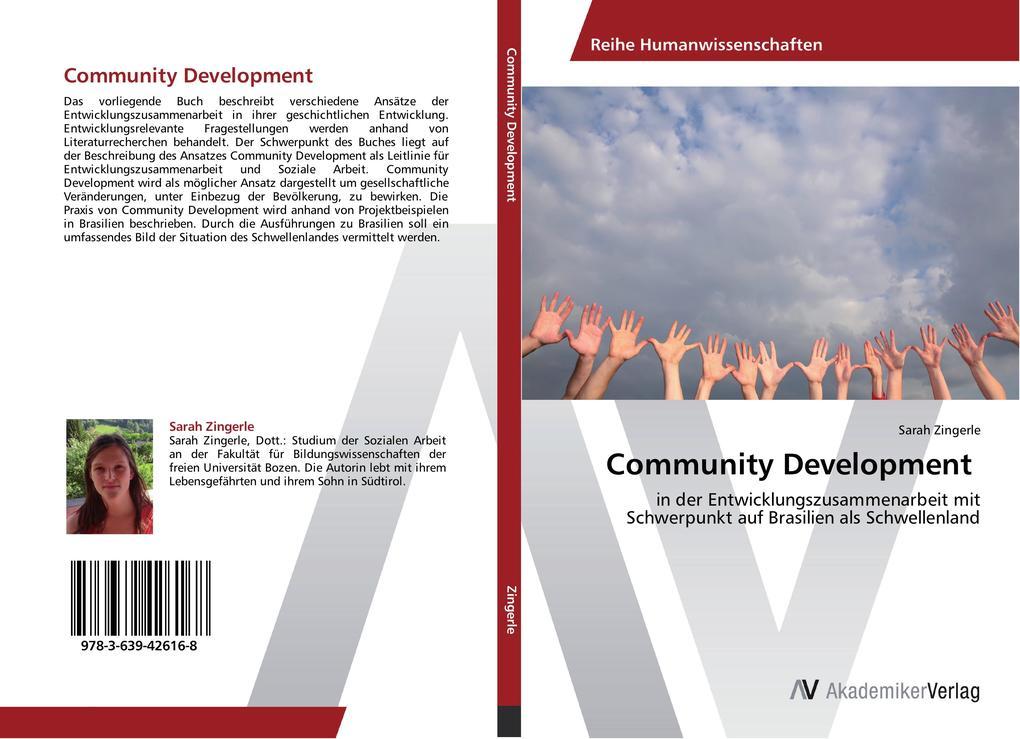 Community Development als Buch von Sarah Zingerle