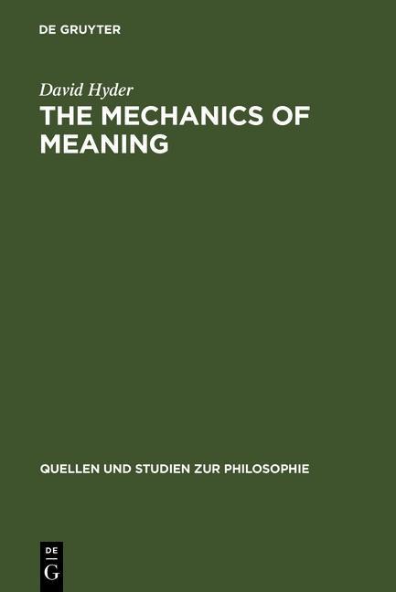 The Mechanics of Meaning als eBook Download von...