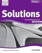 Solutions: Intermediate: Workbook and Audio CD Pack
