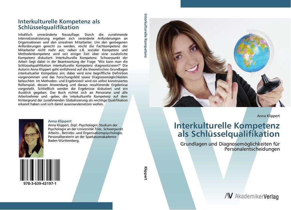 Interkulturelle Kompetenz als Schlüsselqualifik...