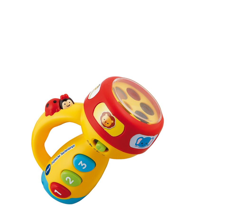 VTech - Baby - Fröhliche Taschenlampe als Spielwaren