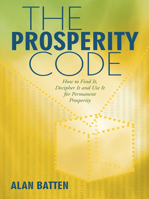 The Prosperity Code als eBook Download von Alan...