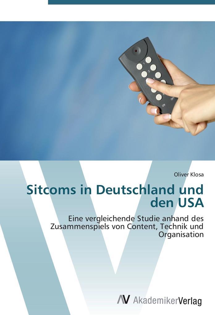 Sitcoms in Deutschland und den USA als Buch von...