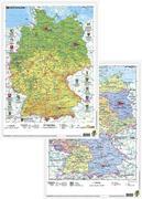 Deutschland physisch/politisch. DUO-Schreibunterlage klein