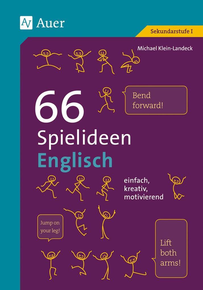 66 Spielideen Englisch als Buch von Michael Kle...