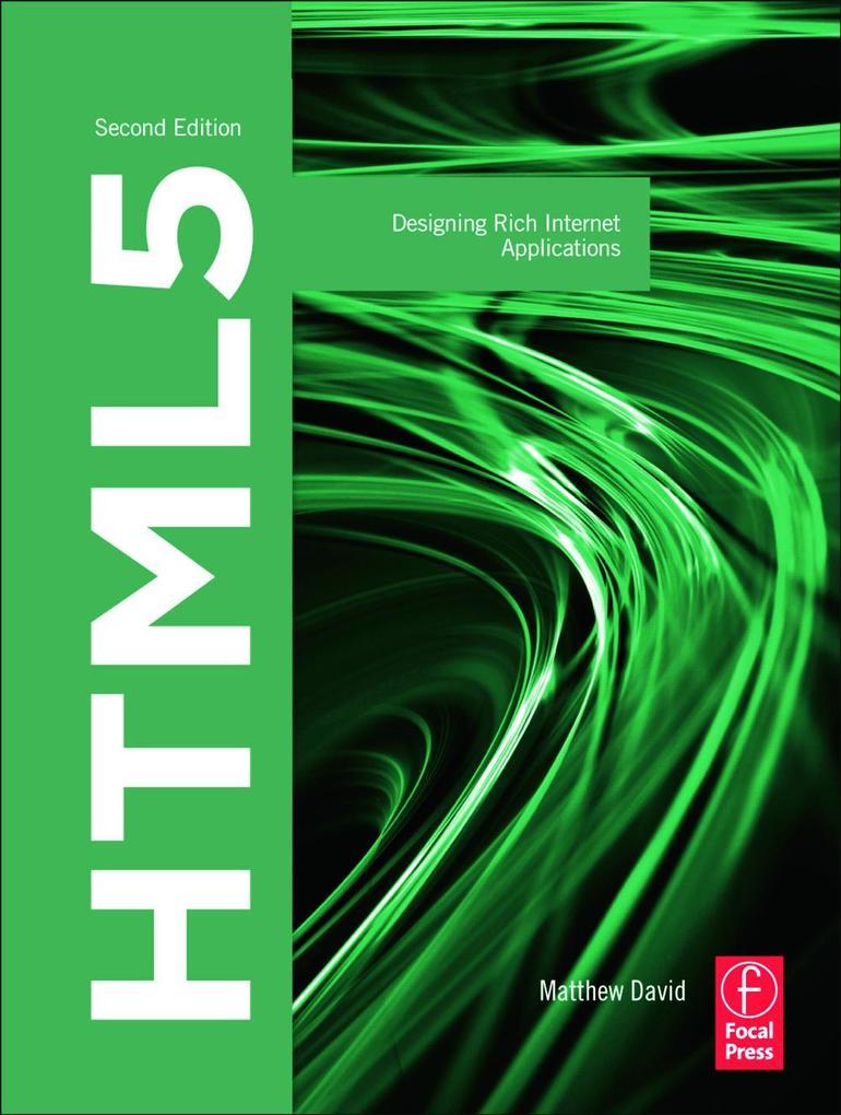 HTML5 als Taschenbuch von Matthew David