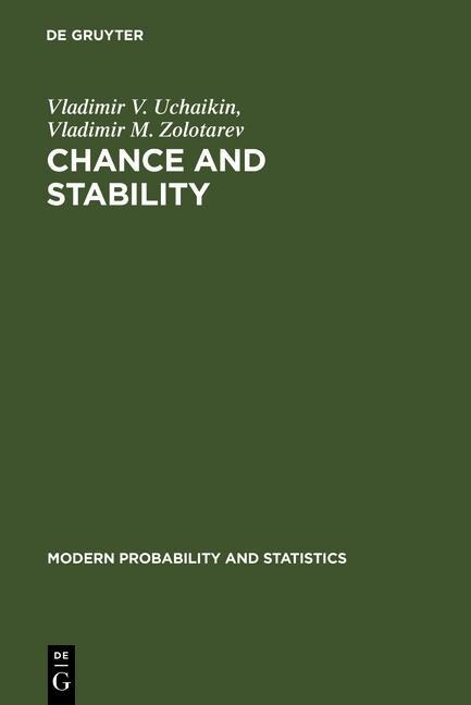 Chance and Stability als eBook Download von Vla...