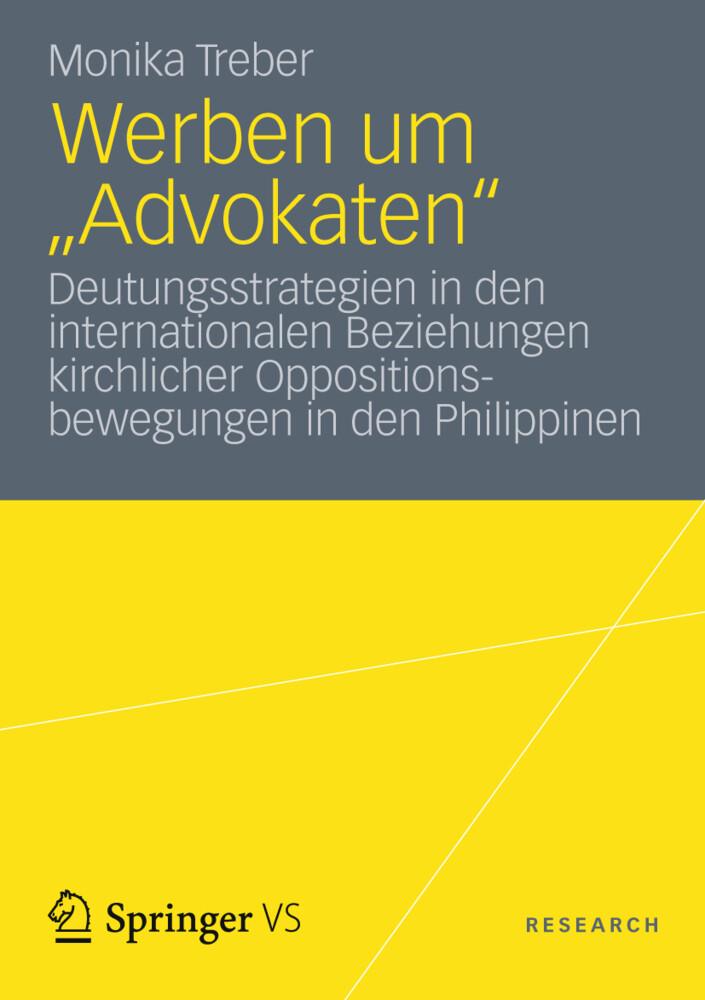Werben um Advokaten als Buch von Monika Treber