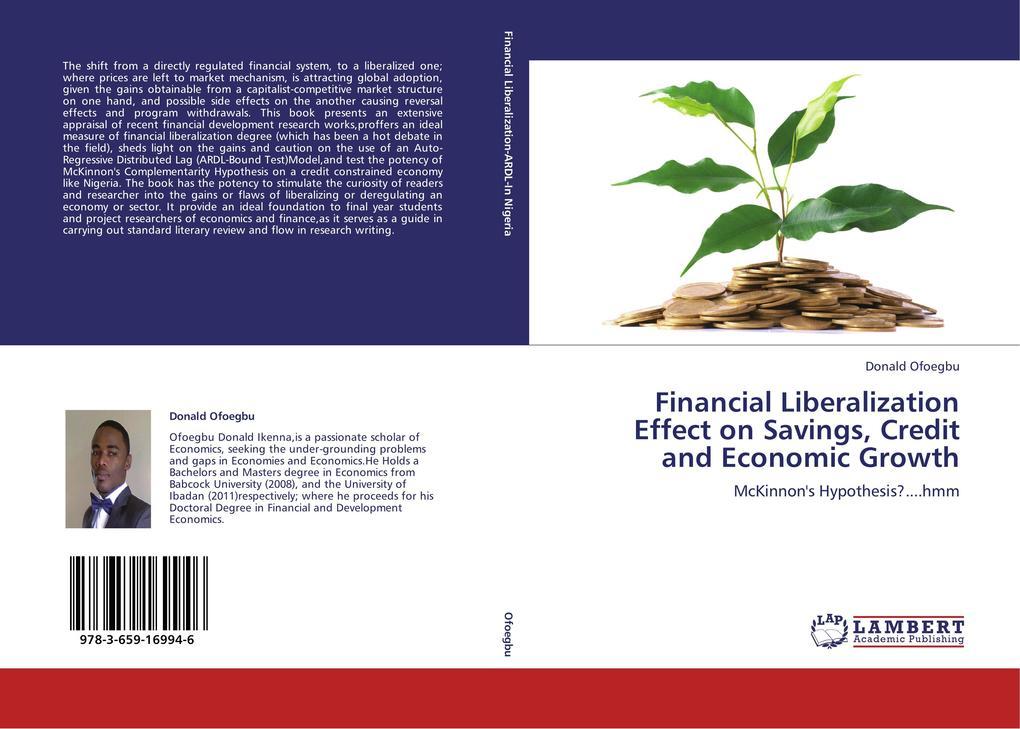 Financial Liberalization Effect on Savings, Cre...