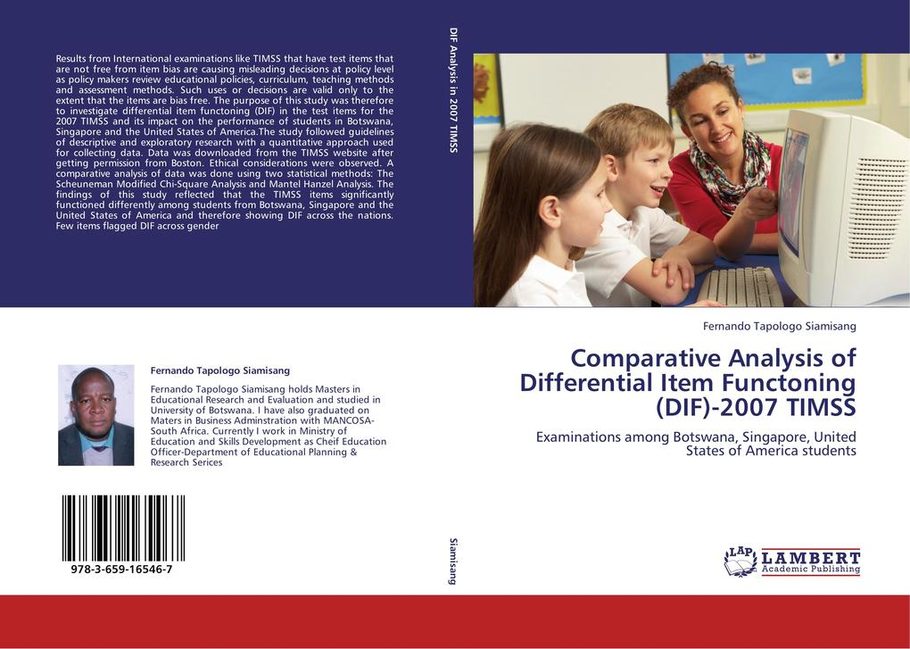 Comparative Analysis of Differential Item Funct...