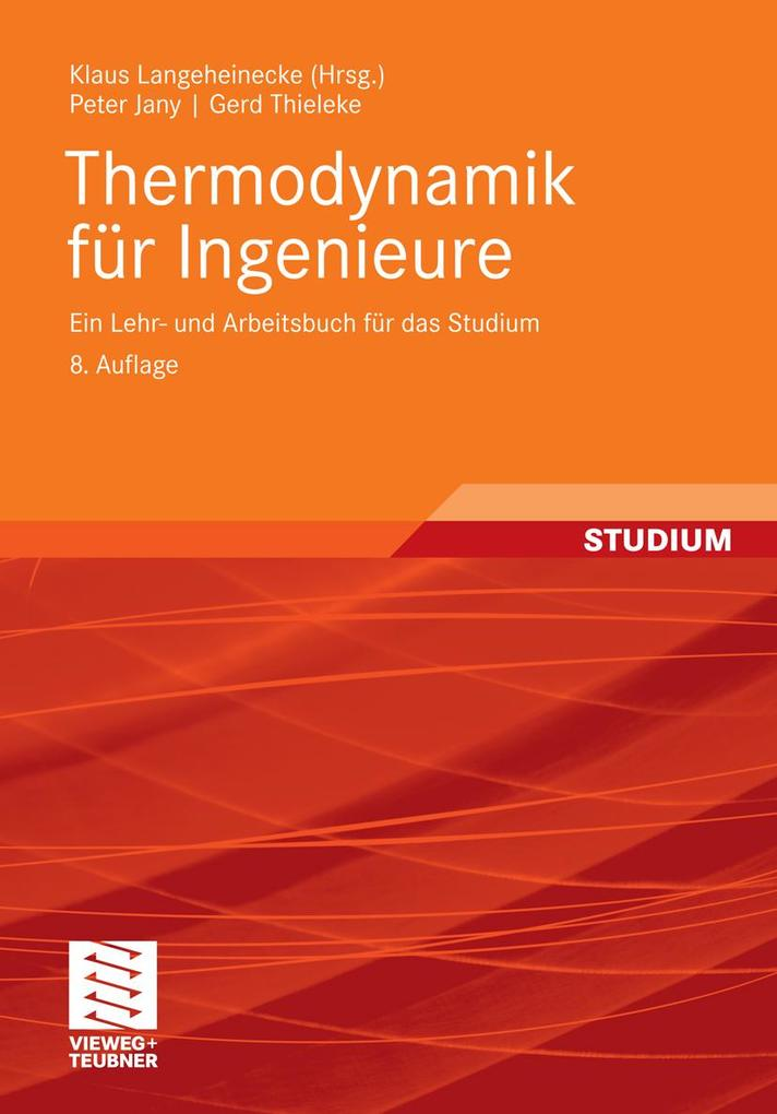 Thermodynamik für Ingenieure als eBook Download...