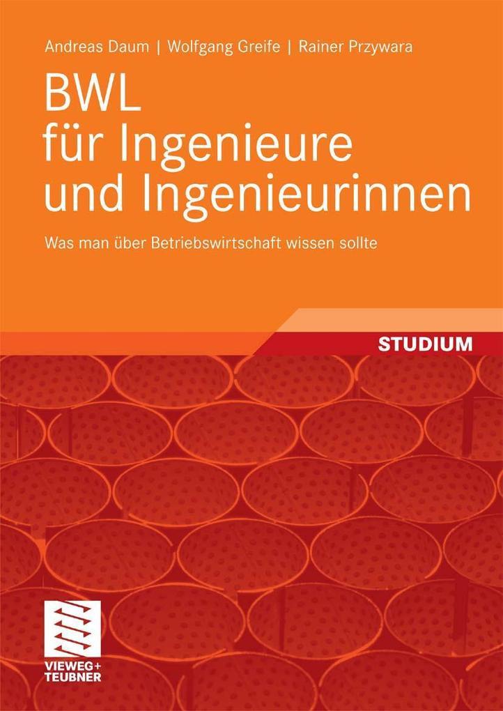BWL für Ingenieure und Ingenieurinnen als eBook...