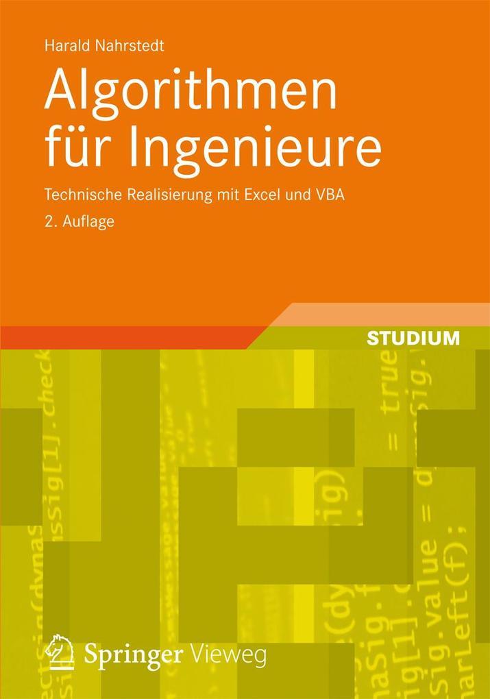 Algorithmen für Ingenieure als eBook Download v...