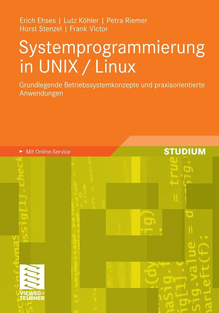Systemprogrammierung in UNIX / Linux als eBook ...