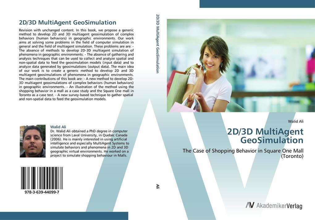 2D/3D MultiAgent GeoSimulation als Buch von Wal...