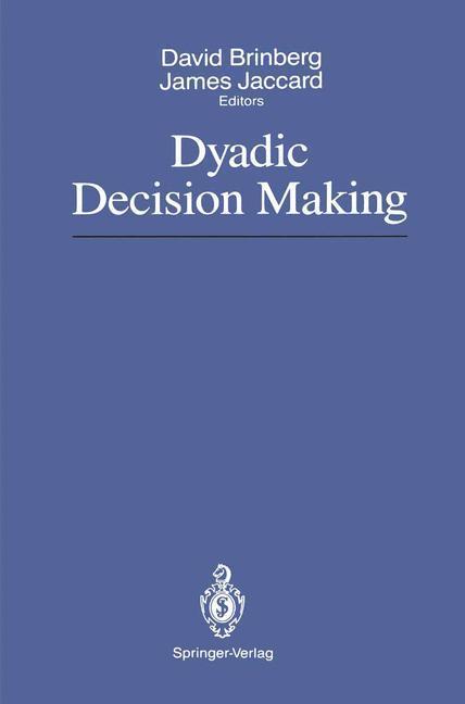 Dyadic Decision Making als Buch von