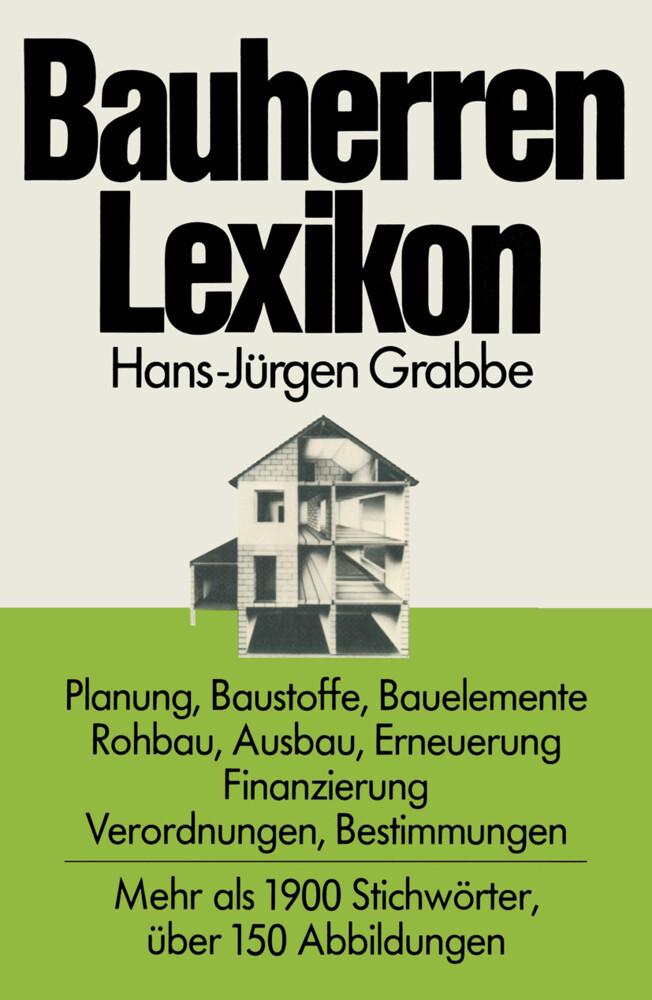 Bauherren Lexikon als Buch von Hans-Jürgen Grabbe