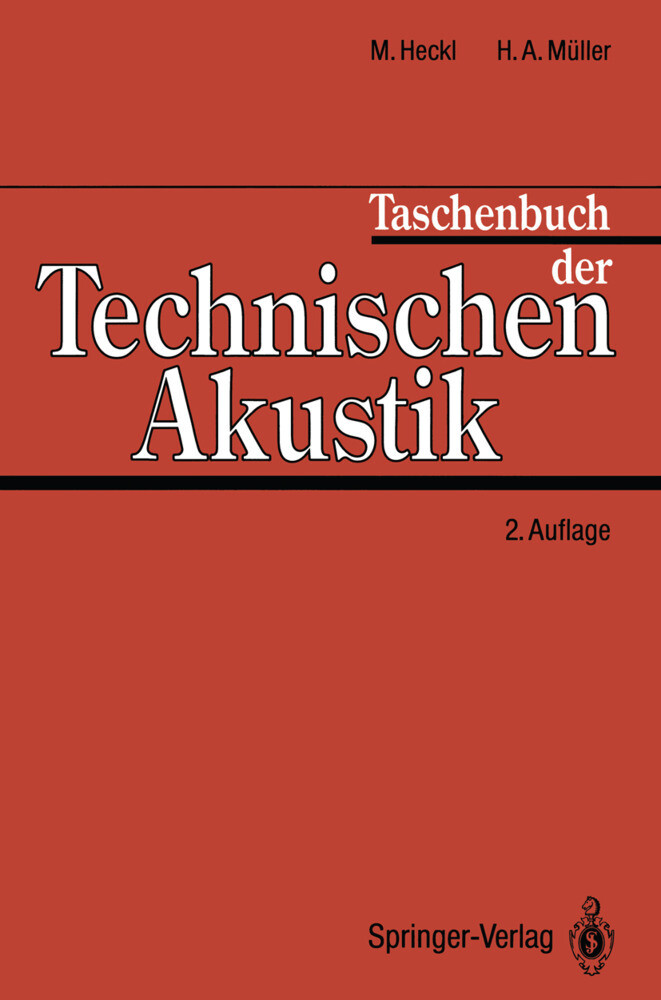 Taschenbuch der Technischen Akustik als Buch von
