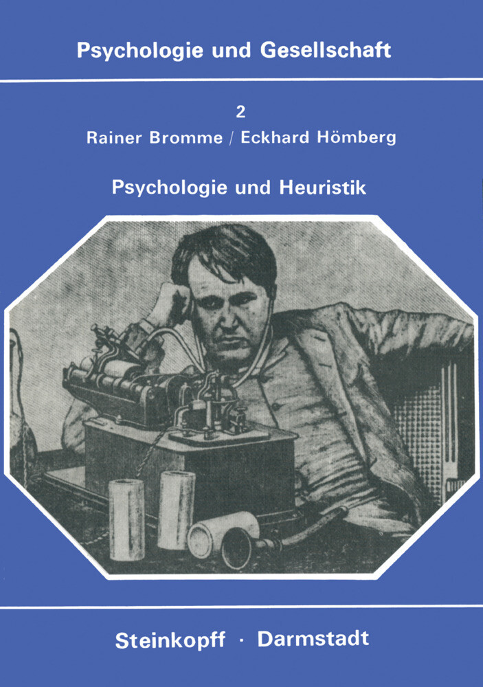 Psychologie und Heuristik als Buch von R. Bromm...