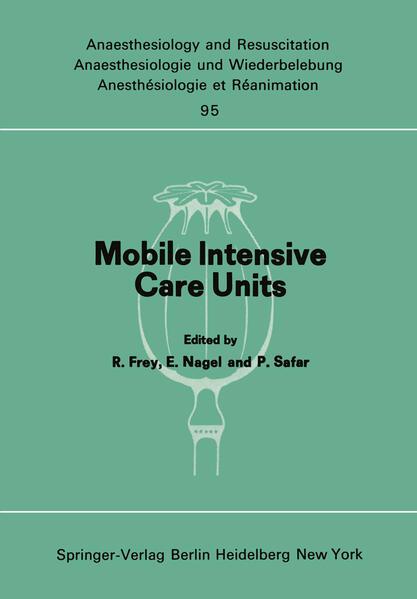 Mobile Intensive Care Units als Buch von P. Rhe...