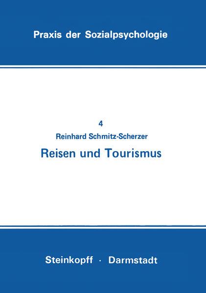 Reisen und Tourismus als Buch von