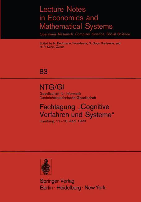 NTG/GI Gesellschaft für Informatik Nachrichtent...