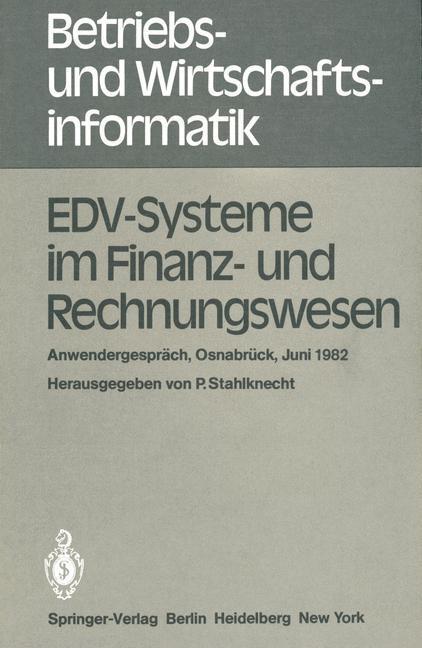 EDV-Systeme im Finanz- und Rechnungswesen als B...