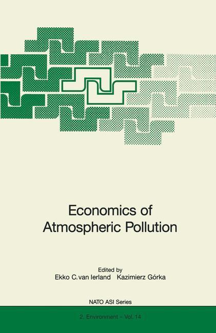Economics of Atmospheric Pollution als Buch von