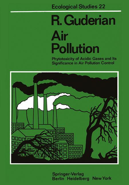 Air Pollution als Buch von R. Guderian