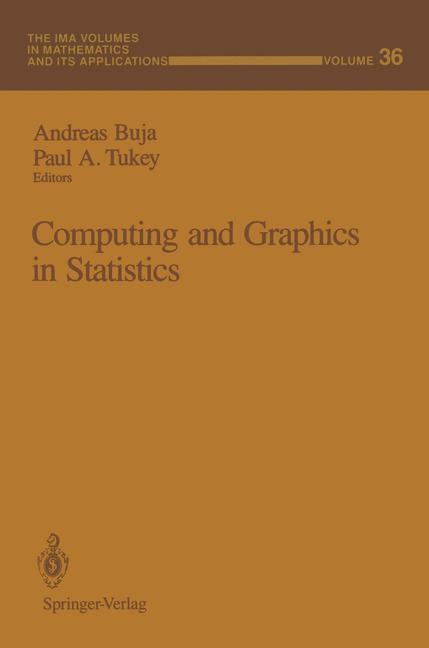 Computing and Graphics in Statistics als Buch von
